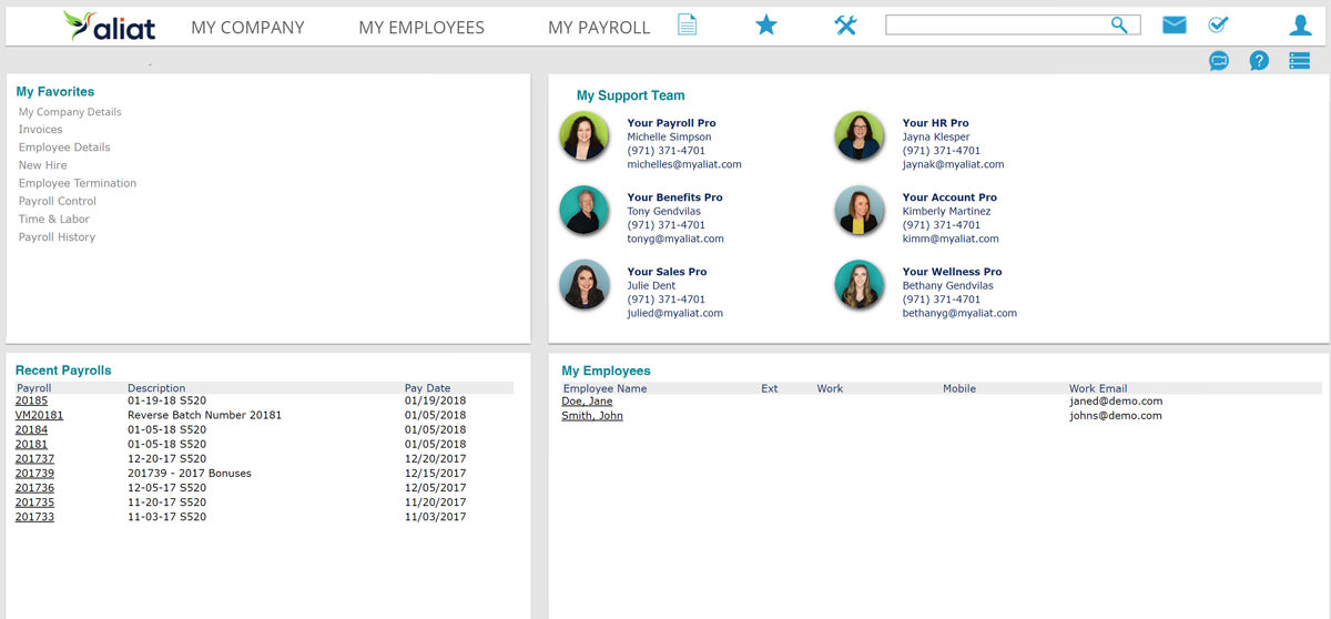 aliat employer portal
